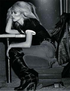 Debbie Harry / Love that rock n' roll look <3<3<3