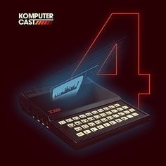 'Komputer Casts' EP vol. 4 by Com Truise #coverart #albumcover #artwork #design #synth #retrodesign #keyboards #retrographics #oldcomputer #synthwave #cyberpunk #computergraphics #neon #laser #hologram #hitech #technology #retrofuturistic #retroart #futuristicart #retrowave #newretrowave by eudiogo_