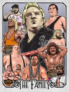 bobby heenan, heenan family, wwf, mr. perfect, andre the giant, brooklyn brawler, king kong bundy, rick rude, king haku, hercules, brain busters, big john studd