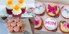 10 Ideias de como decorar cupackes para o dia das mães