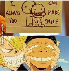 Você sempre pode sorrir (Mesmo que seja forçado)