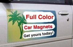 These Cool And Trendy Custom Car Magnets Are Just The Right Thing - Custom car magnet advertisingcustom car magnets car door advertising magnets