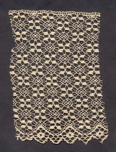 Quaker Lace sample. Kensington, Philadelphia, PA. Early 20th century.