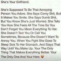 - Girlfriend