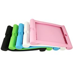 New Durable Silicone iPad Case Protector for iPad 2 & new iPad (5 colors)
