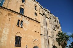 Italy - Palermo, Palazzo dei Normanni | Built by Arab people in 9th century, it still preserves some elements of the later upgrade did by the Normans, who transformed the ancient fortress into a luxurious realm.