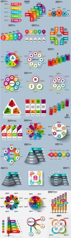 Business Infographic Element Templates Vector EPS, AI Illustrator