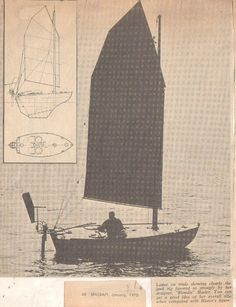 """LONER""  14'10""  http://www.boatdesign.net/forums/sailboats/small-blue-water-boat-36267-7.html"