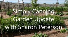Simply Canning Vegetable Garden Ideas Update