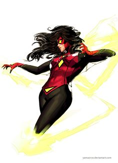 Spiderwoman by YamaOrce.deviantart.com on @DeviantArt