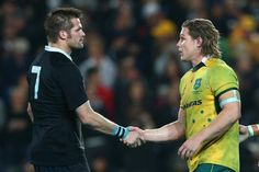 Richie Mccaw & Michael Hooper Two super flankers All Blacks Rugby Team, Nz All Blacks, Steve Hansen, Hansen Is, Michael Hooper, Richie Mccaw, South Africa Rugby, Rugby Championship, New Zealand Rugby