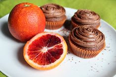 Kamomillan konditoria: Suklaata ja appelsiineja Vegan Vegetarian, Vegetarian Recipes, Cake Cookies, Grapefruit, Tasty, Snacks, Healthy, Food, Appetizers