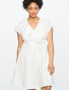 View our Studio Eyelet Wrap Dress and shop our selection of designer women s  plus size Dresses f96160d2a