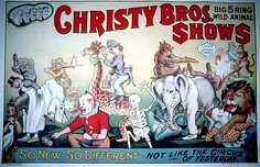 Christy Bros. Shows: Not like the Circus of Yesterday.