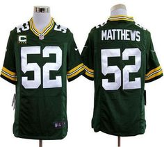 Nike Packers Clay Matthews Green Team Color Mens NFL Game Jersey And Taco  Charlton 97 jersey 22a63834e