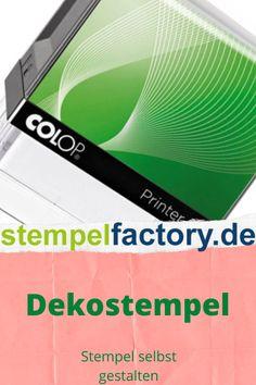 Colop Printer R17 rund 17 mm Stempel selber gestalten eigenes Motiv Logo möglich