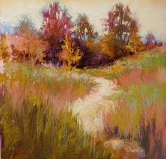Painting and Pastels Marla Baggetta These colors pull you onto the path