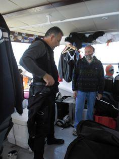 Stefano Donnini e Roberto Scerbo - vestizione