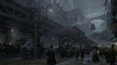 victorian steampunk city - Google Search