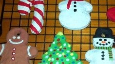 These baked ornaments harden nicely so there is no overnight wait before decorating.