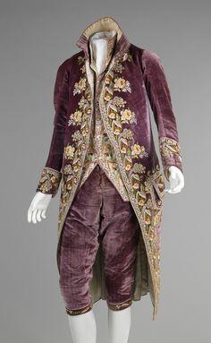 Court suit1810 via The Costume Institute of The Metropolitan Museum of Art