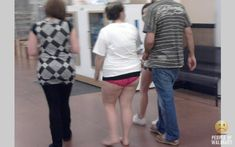 "At what point does a person just say ""F*ck it, I don't need to put on shoes or pants""? Most people in the world would put pants on to walk into another room of the house, or if not that, then they would put some on if they are going to the street to get their mail. You made it to Walmart."
