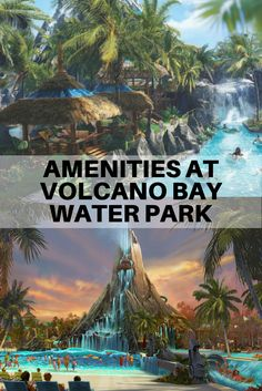 """Volcano Bay visitors can rent cabanas, reserve """"premium seating,"""" buy dining packages and even use Universal Express to circumvent the attraction's Virtual Line."""