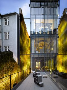 #Arquitectura Hotel Sofitel in Vienna/Austria