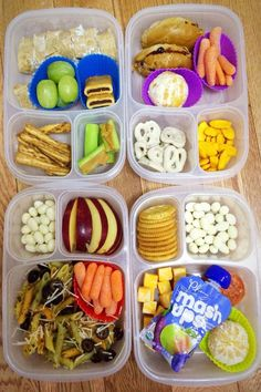 4 healthy preschool lunch ideas - cucumber cream cheese pinwheels, mini bagel pb&j, pesto penne pasta, and home made lunchable with pepperoni, ritz crackers Lunch Box Recipes, Lunch Snacks, Dinner Recipes For Kids, Baby Food Recipes, Healthy Lunches For Kids, Easy Healthy Dinners, Healthy Snacks, Healthy Recipes, Diet Recipes
