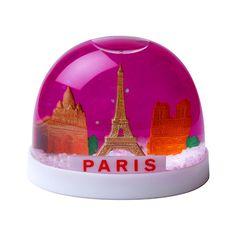 Paris snow globe. Paris makes Everything look better.