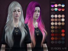 Stargirl Hair  Found in TSR Category 'Sims 4 Female Hairstyles'