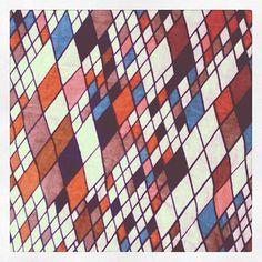 lovely diamond pattern