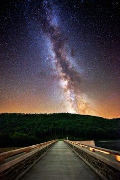 Cherry Springs State Park. One of the best places for stargazing in the U.S.