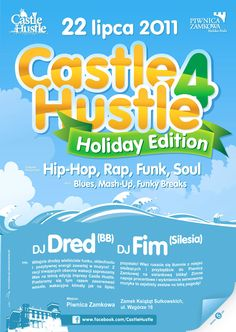 Castle Hustle Event Series Poster