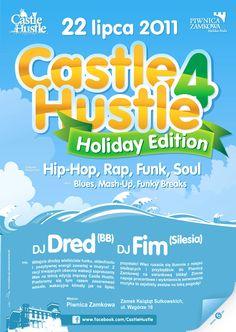 Castle Hustle Event Series Poster