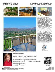 Open House Sun Aug 17th (11-1pm) 23630 Calistoga place Ramona,CA 92065