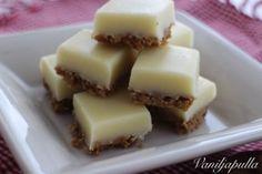 Vegaaniset mokkapalat (maidoton ja munaton) - Vaniljapullan keittiössä - Vuodatus.net - Cheesecake, Pudding, Sweets, Desserts, Food, Tailgate Desserts, Deserts, Gummi Candy, Cheesecakes