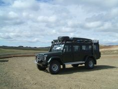 1995 Land Rover Defender 130 Station Wagon would make a good bug out vehicle.