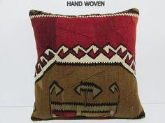 brown pillows bohemian fabric pillow floor pillow cover decorative ...