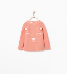 Image 1 of EARS SWEATER WITH FACE from Zara
