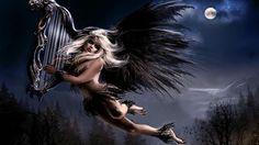 angel background desktop free (Baines WilKinson 1920x1080)