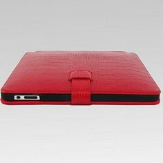 TS-case Croco Leather ipad case Red