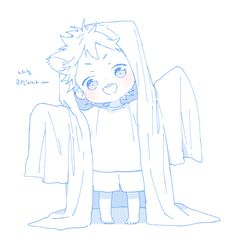 pixiv is an illustration community service where you can post and enjoy creative work. A large variety of work is uploaded, and user-organized contests are frequently held as well. Anime Chibi, Kawaii Anime, Chibi Boy, Kawaii Chibi, Cute Chibi, Haikyuu Anime, Anime Naruto, Anime Drawings Sketches, Anime Sketch