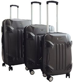 Luggage Sets Collections   New  ZOTA ABS 3 Pcs Luggage Set Dark Grey >>> See this great product. Note:It is Affiliate Link to Amazon. #likeforlike