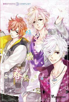 Brothers Conflict - Asahina Brothers - Fuuto, Louis, and Tsubaki