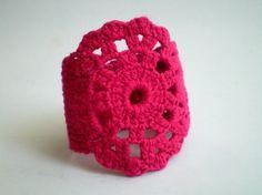 Crochet Lace Wrist Band