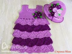 Crochet Knitting Artesanato: vestidos de verão para meninas