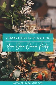 If you like to entertain, you have probably had your fair share of backyard cookouts or tailgates, but what if you want to add a little panache? 👀  Check out our new blog for 7 tips on how to successfully host (and organize) a dinner party worth remembering!