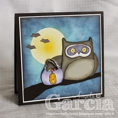Angela's Craft Closet: Close To My Heart Stamp of the Month Blog Hop Featuring What A Hoot