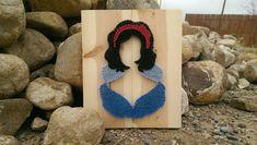 Snow White string art sign by Naileditartbydian on Etsy